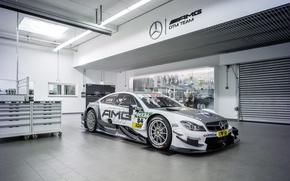 Картинка Mercedes-Benz, мерседес, AMG, DTM, дтм, C204, 2015, C-Class