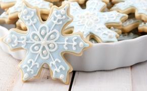 Обои Holidays, Новый Год, праздники, выпечка, food, печенье, New Year, Christmas, еда, cookies, новогоднее, Рождество