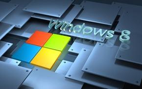 Картинка логотип, windows, microsoft, logo, windows 8