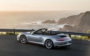 Обои каррера, Carrera, порше, кабриолет, Porsche, 911, Cabriolet