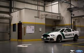 Картинка Mustang, Ford, Dubai, Police, Roush