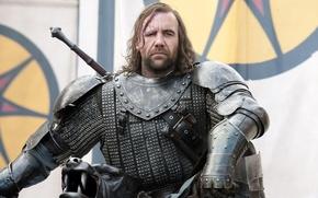 Картинка доспехи, воин, пес, Game of Thrones, Игра престолов, The Hound, Сандор Клиган