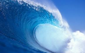 Обои вода, природа, волна