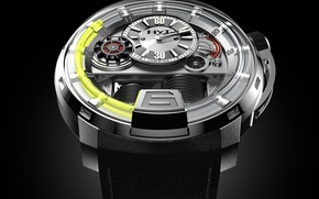 Картинка часы, Watch, HYT, UNLEASHES A MASTERPIECE, WITH THE H1 WATCH