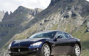 Картинка Maserati, mountains, Granturismo