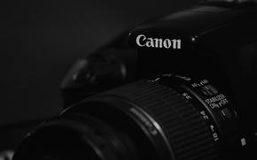 Картинка black, canon, camera, camera lens, black camera, 1100d