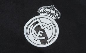 Картинка футбол, клуб, лого, Реал Мадрид, Real Madrid