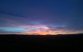 Картинка восход, Небо, утро, севастоль, контрасты, юго-восточный ветер