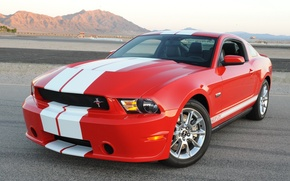 Картинка Ford, Shelby, Red, GTS, 2011–12