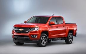Обои 2015, Diesel, Duramax, Colorado, Crew Cab, шевроле, Chevrolet, Z71, колорадо