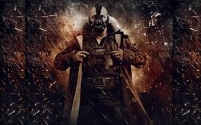 Обои dark, batman, bane, knight, rises