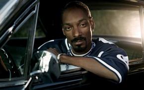 Картинка машина, чёрный, музыкант, рэпер, нигер, rap, Snoop Dogg, Снуп Догг