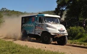 Картинка Dakar, 2014, Tatra, 542, Astana Motorsport, Arthur, Ardavichus, Bonver Dakar Project