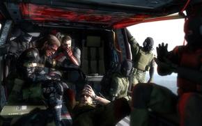 Картинка big boss, Metal Gear Solid V: The Phantom Pain, Venom Snake, skull face, kazuhira miller