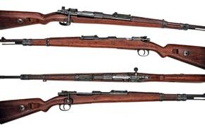 Картинка оружие, фон, винтовка, магазинная, Mauser 98k