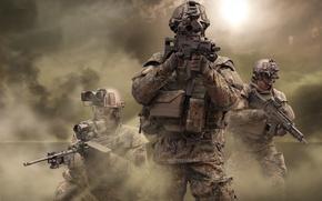Картинка армия, Германия, солдаты, Оружие, немцы, Бундесвер, G-36