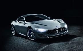 Картинка Concept, Maserati, концепт, Мазерати, передок, Alfieri