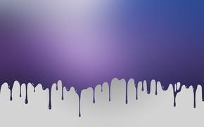 Обои капли, стиль, краска, минимализм, minimalism, style, 1920x1200, color, drops