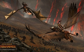 Картинка фэнтези, битва, fantasy, сражение, warhammer, грифон, total war, стратегия, вархаммер, strategy, тотальная война, creative assembly