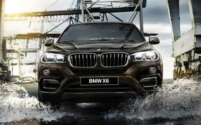 Картинка бмв, BMW, F16, 2015