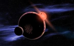 Картинка sun, planet, Kepler, 452 b