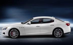 Картинка Maserati, ghibli
