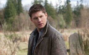Обои supernatural, сверхъестественное, Dean Winchesner, мужчина, jensen ackles