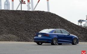 Картинка Audi, тюнинг, Ауди, седан, Vossen, S3