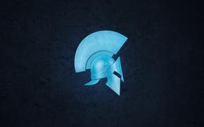 Обои шлем, спарта, каска, фон