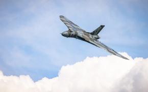 Картинка бомбардировщик, стратегический, Avro Vulcan, «Вулкан»