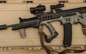 Обои винтовка, автомат, Тавор, штурмовая
