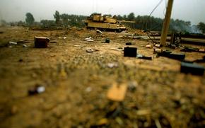 Картинка мусор, танк, полигон
