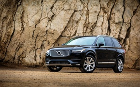 Обои XC90, вольво, 2015, First Edition, Volvo, US-spec, AWD
