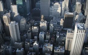 Картинка nyc, new york, небоскребы, высота, улицы, city, город