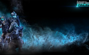 Картинка оружие, солдаты, online, tom clancy's, ghost recon