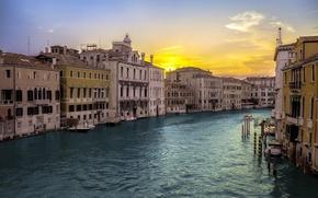 Картинка пейзаж, город, Venice