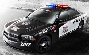 Картинка Dodge, Car, Charger, Pursuit, Pace