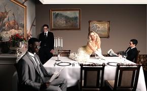 Картинка стол, невеста, bride