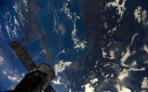 Картинка космос, земля, планета