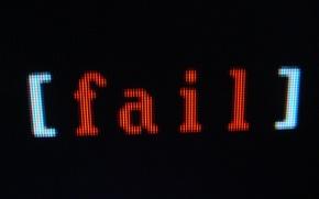 Картинка монитор, пиксель, fail
