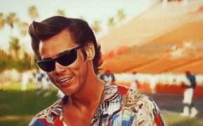 Картинка Jim Carrey, ace ventura, colorful shirt, look