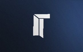 Обои Esports, Counter-Strike: Global Offensive, Логотип, Game, Titan, CS:GO, Minimalism, Team, CSGO, vent designs