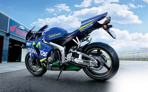 Картинка мотоцикл, honda, хонда, cbr, 600rr