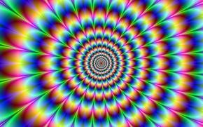 Обои галюцинация, иллюзия, абстракция