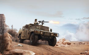Обои хаммер, Textures and Visualisation bu Alex Iartsev, пустыня, American madness, хамви, by ABiator, HMMWV model ...