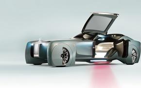 Картинка car, concept, future, wallpaper, metal, Rolls Royce, prototype, beautiful, speed, beauty, luxury, automobile, sugoi, subarashii, …