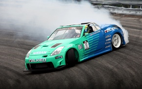 Обои 350z, Nissan, drift