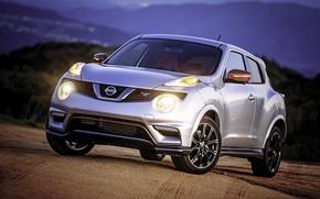 Картинка Nissan, ниссан, джук, Juke, US-spec, Nismo, 2014, YF15
