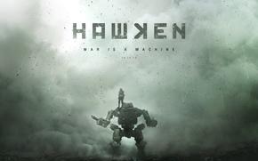 Картинка человек, робот, мех, War Is A Machine, Adhesive Games, Hawken