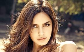 Картинка девушка, актриса, красавица, girl, sexy, eyes, smile, beautiful, model, pretty, beauty, lips, hair, brunette, pose, ...